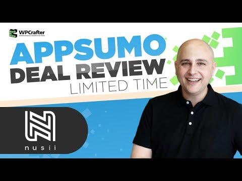 Nusii Review - A Tool For Sending Proposals & Reports To Customers
