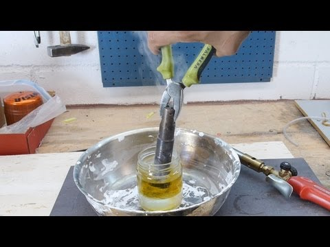 Cutting Glass Rings