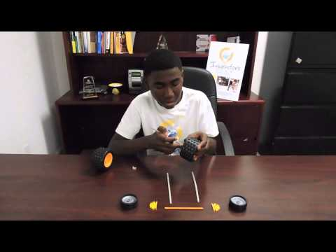 How to build a basic K'nex car