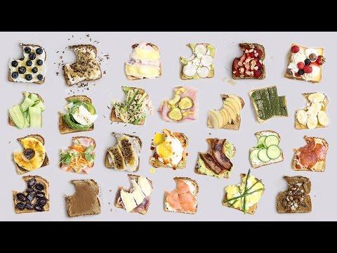 25 EPIC Toast Ideas!!!