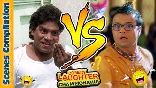 Johnny Lever Comedy Scenes - Rajpal Yadav Comedy Scenes - 4 - Comedy Laughter Championship