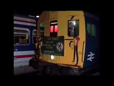 Last EPB Arrival at Dartford 31st March 1995