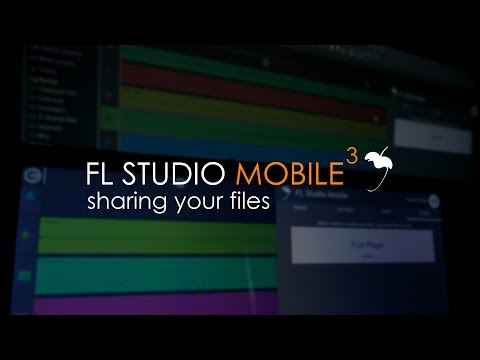 FL Studio Mobile 3 | Sharing Project Files