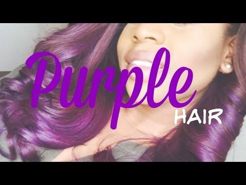 DYI: Purple hair Ft. Manic Panic Ultraviolet & Purple Haze