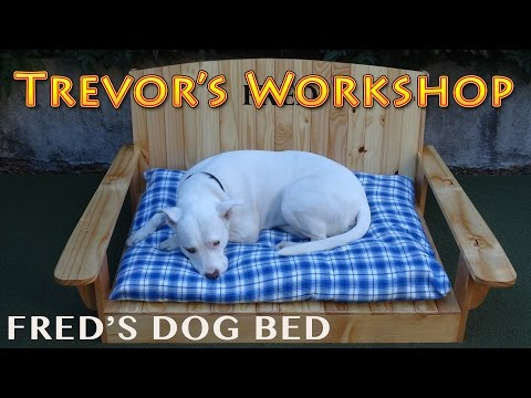 Making a Dog Bed for Mans Best Friend