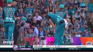 Highlights: Heat v Hurricanes - BBL06