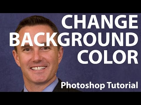 Photoshop - Change Background Color