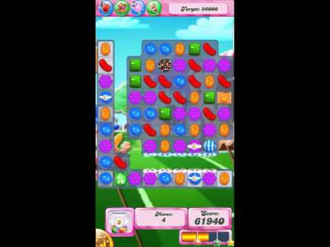 Candy Crush Saga Level 1445 No Booster with tips