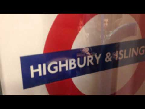 Victoria Line Passenger Ride From Finsbury Park To Euston
