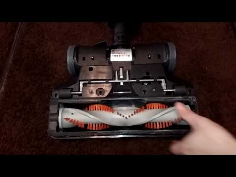 Electrolux Paragon powerhead brushroll removal for cleaning
