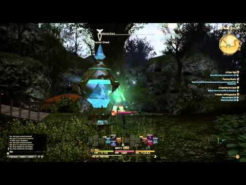 Final Fantasy XIV: A Realm Reborn PS4 Beta Gameplay