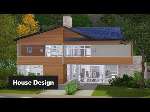 Modern Suburban | The Sims 3 House Building