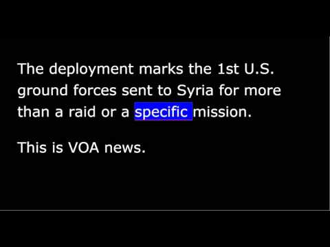 VOA news for Saturday, October 31st, 2015