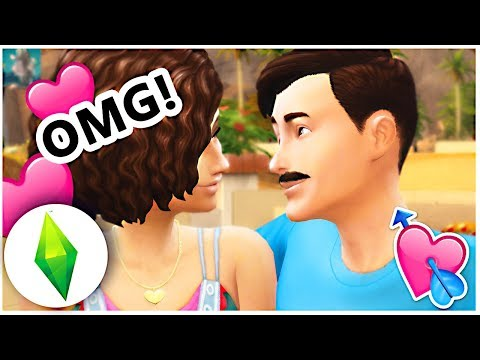 Let's Play The Sims 4 | SHE ASKED US ON A DATE! [Part 10]