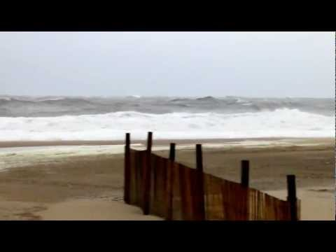Pre-Hurricane Sandy Beach Walk in OC