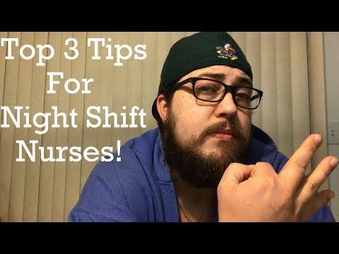 TOP 3 TIPS FOR NIGHT SHIFT NURSES