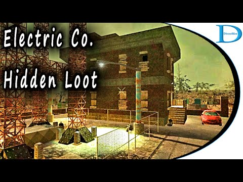 19HL Electric Co - Hidden Loot - 7 Days To Die Alpha 14 (Navezgane)