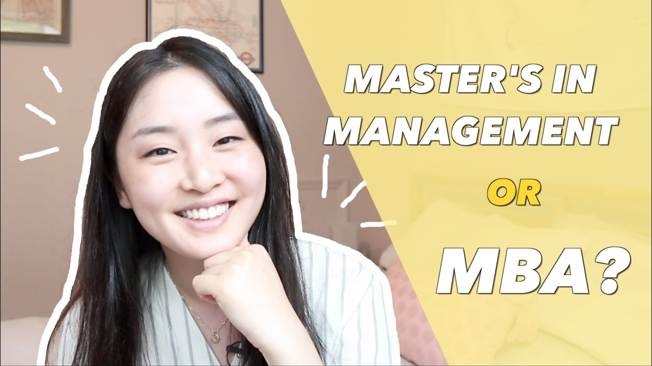 What is a Master's in Management?   MBA vs. MIM