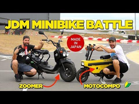 Ultimate JDM Mini Bike Battle
