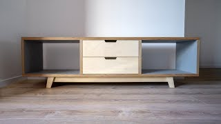 HPL Plywood Entertainment Unit