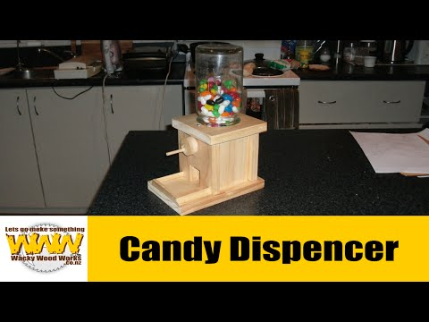 Lolly Dispenser. Off the cuff - Wacky Wood Works