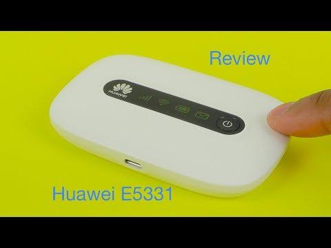 Huawei E5331 21Mbps Mobile WiFi Hotspot Review