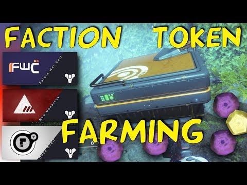 Destiny 2 - (Patched Cause F**K You Bungie) FASTEST Faction Rally Token Farming