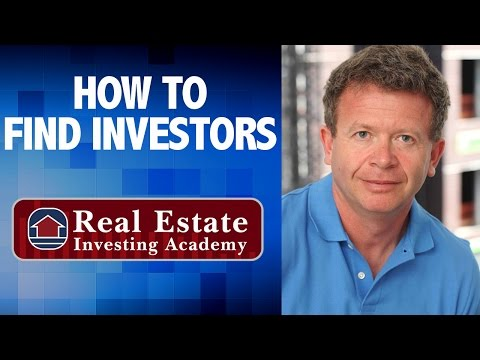 How To Find Real Estate Investors - Agent Training - Peter Veksleman