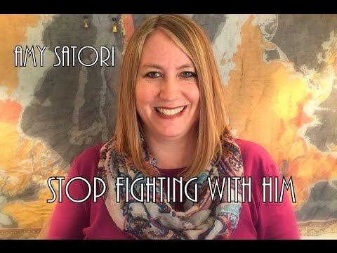 Play this to stop escalating a fight with your man | Amy Satori | amysatori.com