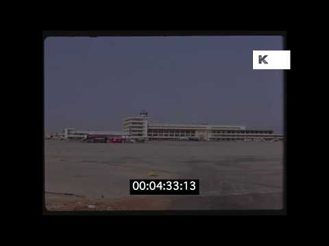 1950s Beirut Airport, Lebanon in HD from 35mm | Kinolibrary