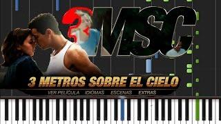 Tres Metros Sobre el Cielo - Theme Song [Piano Tutorial] (♫)