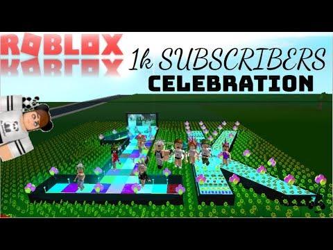 1k SUBSCRIBER CELEBRATION: ROBLOX | Bloxburg |