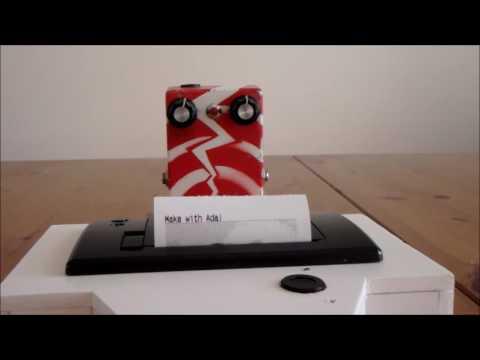 Make with Ada: DIY instant camera