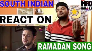 SOUTH INDIAN REACT ON Allah Tera Ehsan - Noor e Ramazan - OST - Farhan Ali Waris, Qasim Ali Shah