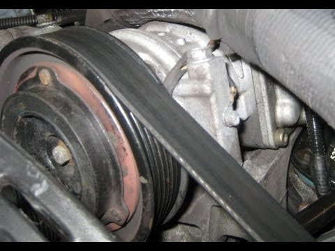 94-04 Jeep AC Compressor Replacement