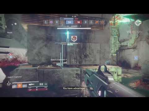 Destiny 2 [Beta] Shaxx's Witness you Crucible Line