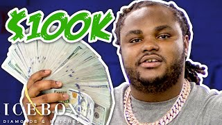 Tee Grizzley Brings A Mountain Of Cash To Icebox - Talks New Chain