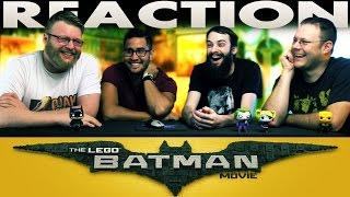 The LEGO Batman Movie Comic-Con Trailer REACTION!!