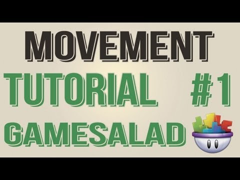 Gamesalad Tutorial - Movement Jump, Right, Left