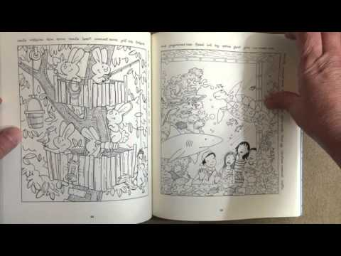 Highlights Hidden Pictures: A Coloring Book for Grown-Up Children flip through