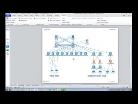 Easily creating Visio diagram