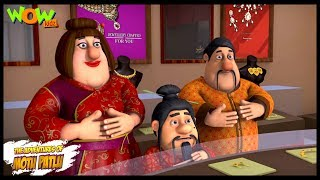 Motu Patlu New Episode   Hindi Cartoons For Kids   Welcome To Furfurinagar   Wow Kidz