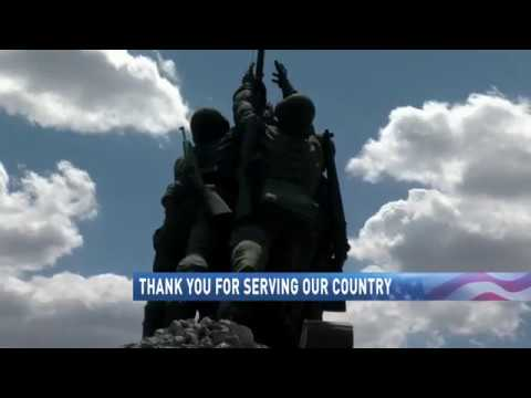 Thank you for serving our country