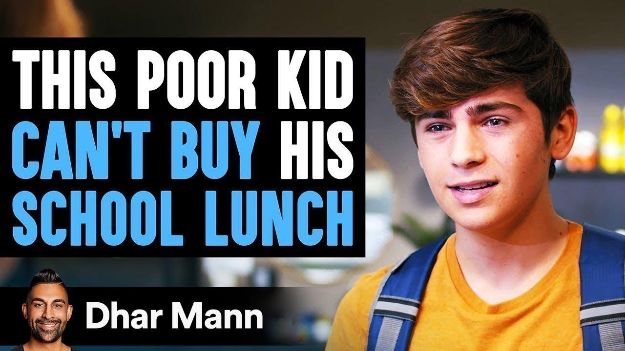 Poor Kid Can't Buy School Lunch, Ending Is Shocking | Dhar Mann