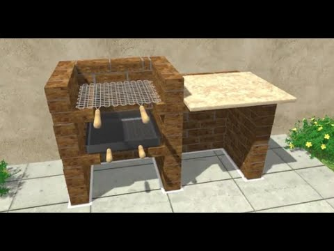 How to build outdoor bbq pit | Beast method to build  Outdoor bbq pit