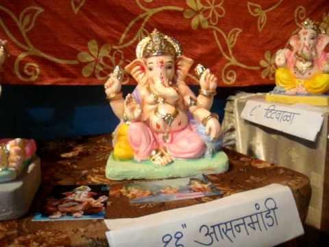 Prathamesh Ecofriendly Paper Mache Ganapati