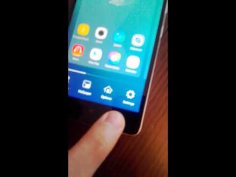 Lenovo K3 Note Problem with touchscreen - functional key (problem z dotykiem)