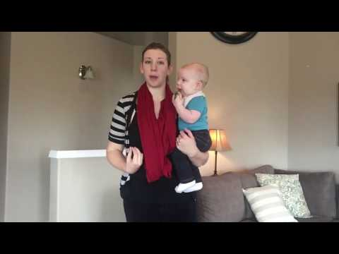 How to Hold Your Baby or Toddler Pain Free!