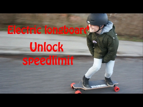 How To Unlock Speed Limit On Electrick Longboard Koowheel