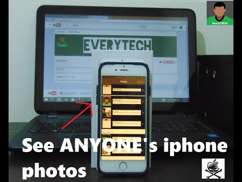 See ANYONE's iphone photos without them knowing...   Iphone Hack on iOS 10